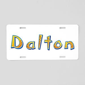 Dalton Giraffe Aluminum License Plate