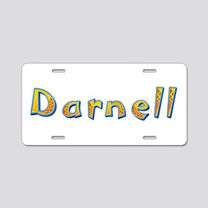 Darnell Giraffe Aluminum License Plate
