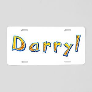 Darryl Giraffe Aluminum License Plate