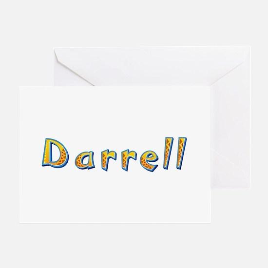 Darrell Giraffe Greeting Card