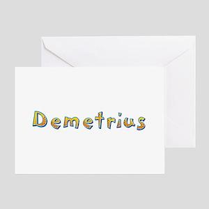 Demetrius Giraffe Greeting Card