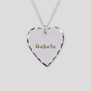 Dakota Giraffe Heart Necklace