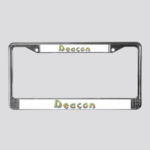 Deacon Giraffe License Plate Frame