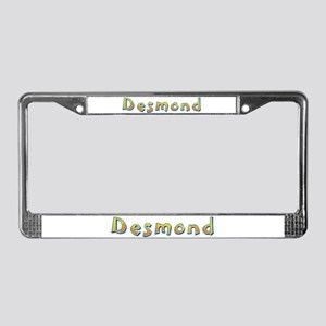 Desmond Giraffe License Plate Frame