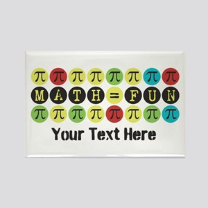 Customize Math = Fun Rectangle Magnet