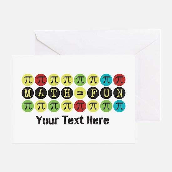 Customize Math = Fun Greeting Card