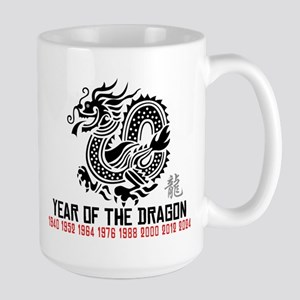 Chinese New Year of The Dragon Mugs