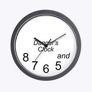 dancer's Wall Clock