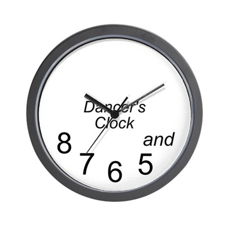 dancer's Wall Clock