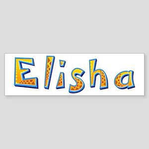 Elisha Giraffe Bumper Sticker