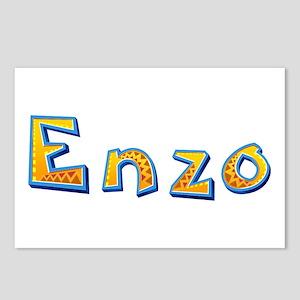 Enzo Giraffe Postcards 8 Pack