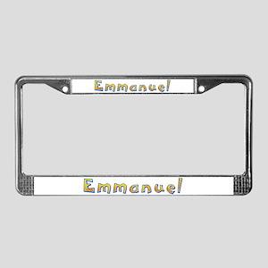 Emmanuel Giraffe License Plate Frame