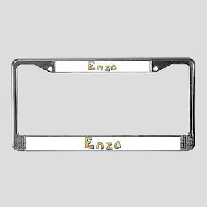 Enzo Giraffe License Plate Frame