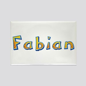 Fabian Giraffe Rectangle Magnet