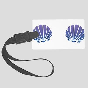 Mermaid Shells Chest Luggage Tag