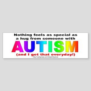 AUTISM Hug Bumper Sticker