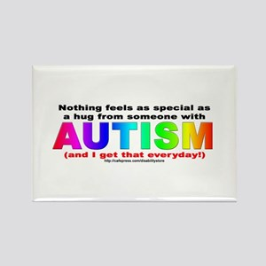AUTISM Hug Rectangle Magnet