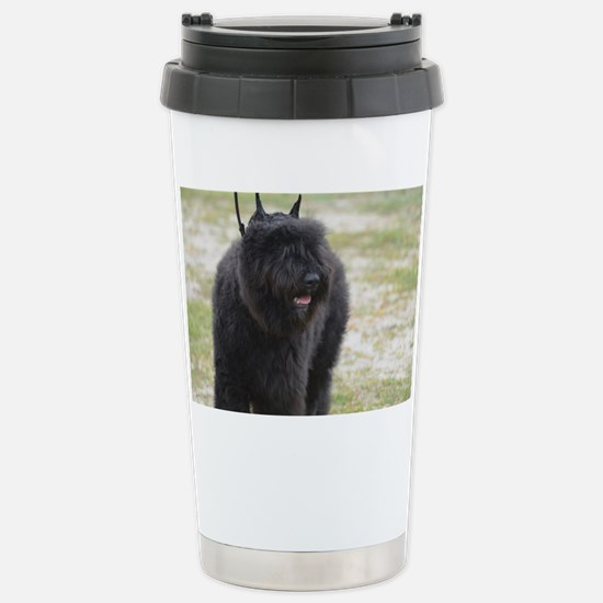 Black Cattle Dog Stainless Steel Travel Mug