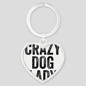Crazy Dog Lady Keychains