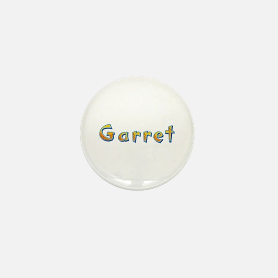 Garret Giraffe Mini Button