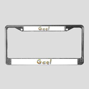 Gael Giraffe License Plate Frame