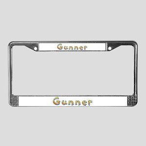 Gunner Giraffe License Plate Frame