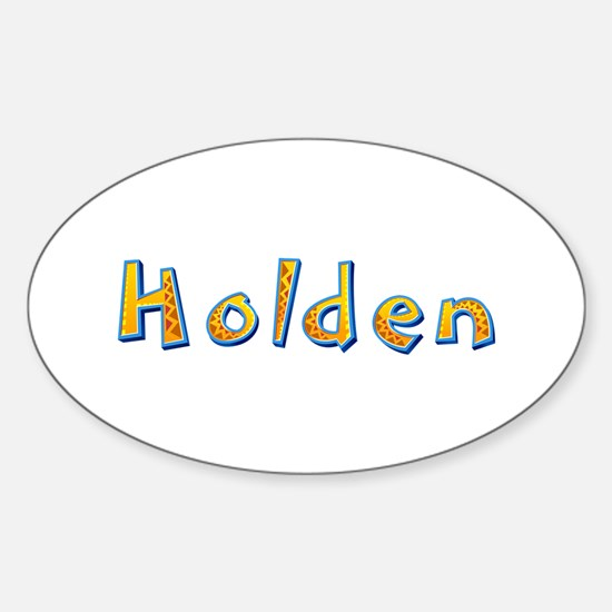 Holden Giraffe Oval Decal