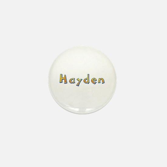 Hayden Giraffe Mini Button