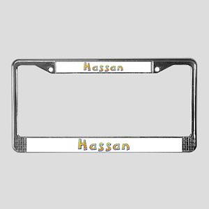 Hassan Giraffe License Plate Frame