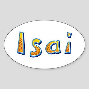 Isai Giraffe Oval Sticker
