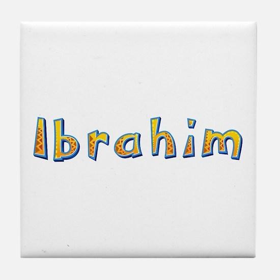 Ibrahim Giraffe Tile Coaster