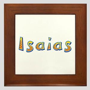 Isaias Giraffe Framed Tile
