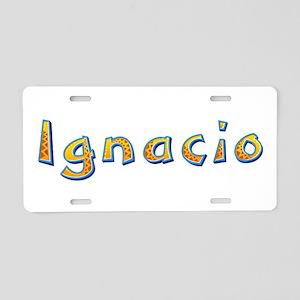 Ignacio Giraffe Aluminum License Plate