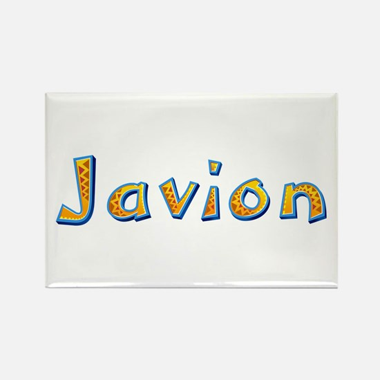 Javion Giraffe Rectangle Magnet