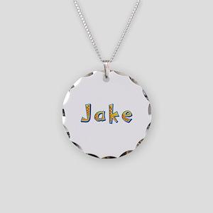 Jake Giraffe Necklace Circle Charm