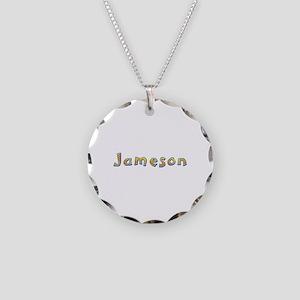 Jameson Giraffe Necklace Circle Charm