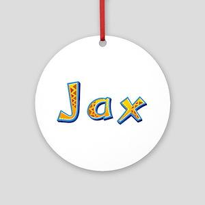 Jax Giraffe Round Ornament