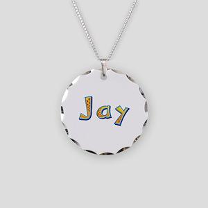 Jay Giraffe Necklace Circle Charm