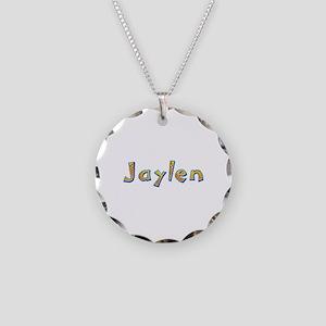 Jaylen Giraffe Necklace Circle Charm