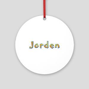 Jorden Giraffe Round Ornament