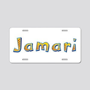 Jamari Giraffe Aluminum License Plate