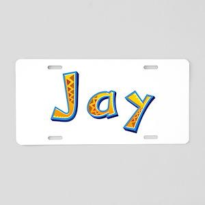 Jay Giraffe Aluminum License Plate