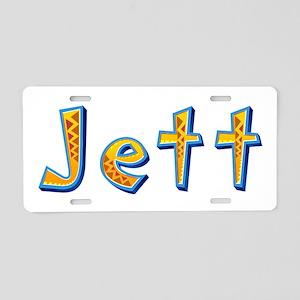 Jett Giraffe Aluminum License Plate