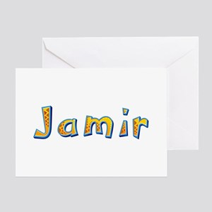 Jamir Giraffe Greeting Card