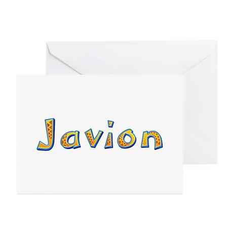 Javion Giraffe Greeting Card 20 Pack