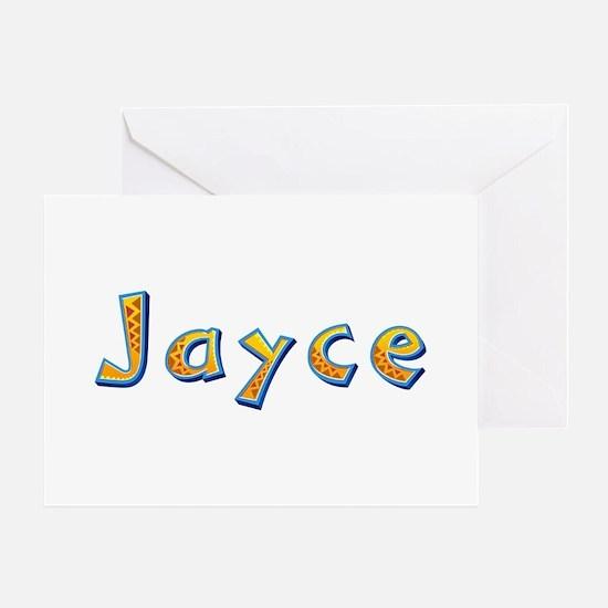 Jayce Giraffe Greeting Card