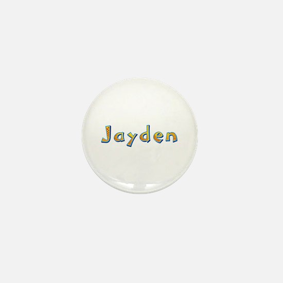 Jayden Giraffe Mini Button