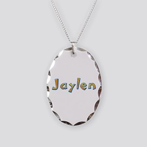 Jaylen Giraffe Oval Necklace