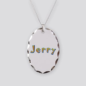 Jerry Giraffe Oval Necklace