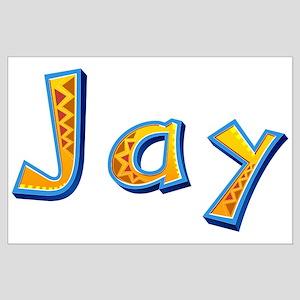 Jay Giraffe Large Poster